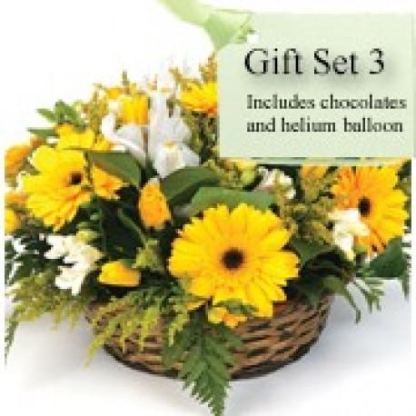 Gift Set 3 - Basket Arrangement