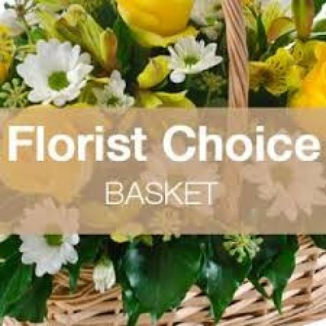 Florist Choice Basket Arrangement