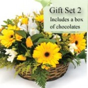 Gift Set 2 - Basket Arrangement